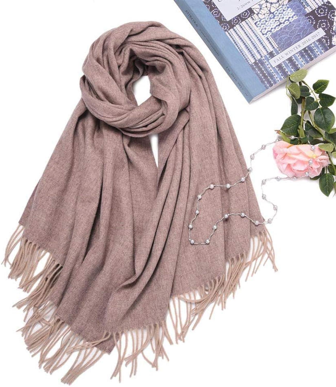 Gquan Fashion Scarf, Fashion Thickened Scarf Shawl Woolen WeftFall Winter