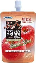 オリヒロ ぷるんと蒟蒻ゼリー 低カロリー アップル 130g×8個