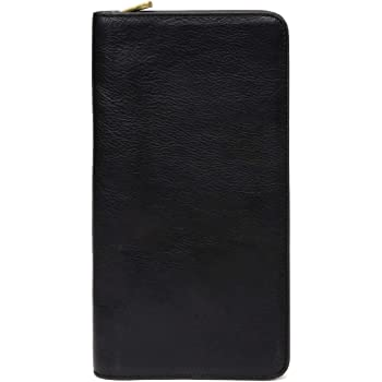 Large Christmas Gift Bags Leather Passport Holder Cover Case Blocking Travel Wallet