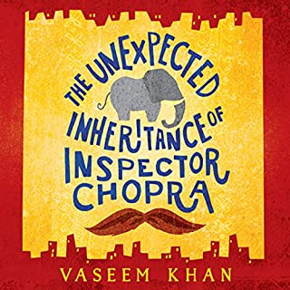 The Unexpected Inheritance of Inspector Chopra audiobook cover art