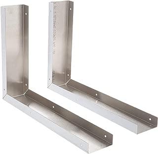Whirlpool 8171339 Microwave Side Panel Kit, Stainless steel