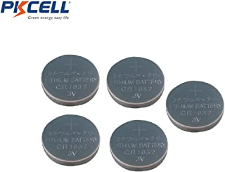 5pcs CR1632 3V Coin Lithium Batteries for Watches Calculators , Car Remote Controls and Toys