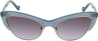 Luxury Fashion | Liu Jo Womens LJ721SR431 Light Blue Sunglasses | Fall Winter 19
