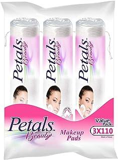 Petals Makeup Pad, 3 x 110s