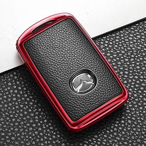 Funda Suave de TPU para Llave de Coche, Carcasa para Mazda 3 Alexa CX4 CX5 CX8 2019 2020, Accesorios REDNOKEYCHAIN