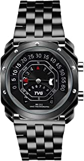 Men's Digital Watch TVG Outdoor Watch Compass Watch Binary Time LED Display 30M Waterproof Alloy Band Creative Sport Army ...