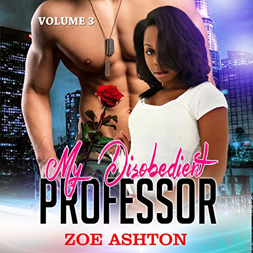 My Disobedient Professor audiobook cover art