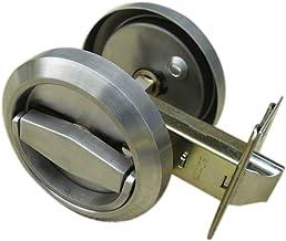 UniDecor Stainless Steel 304 Storeroom Locks Privacy Door Locks (D: 2.95 Inch Thickness: 0.52 Inch)