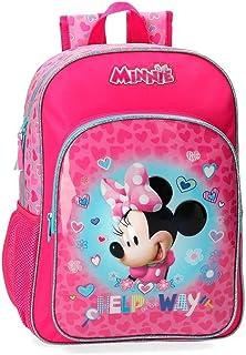 Disney Help on The Day Mochila Minnie, Rosa, 29x38x12 cm