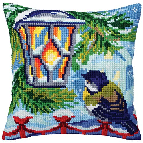 Collection D'Art Pillow Cushion Top Kit Before Christmas 40cm x 40cm