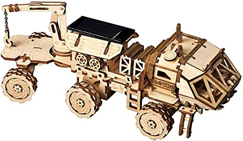 la calidad primero los consumidores primero Lhcar Creativo DIY 3D Discovery Discovery Discovery Rover Movible con energía Solar Modelo Kits de construcción de Juguete de Regalo para Niños Adultos  mas preferencial