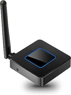 beheart Miracast Dongle, 5G/2.4G WiFi Display Dongle, Récepteur d' Affichage sans Fil 1080P, Double Sortie HDMI + AV, Supp...