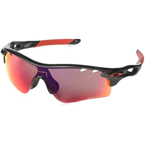 a46b43e823f Oakley mens Radarlock Path OO9181 Polarized Sport Sunglasses