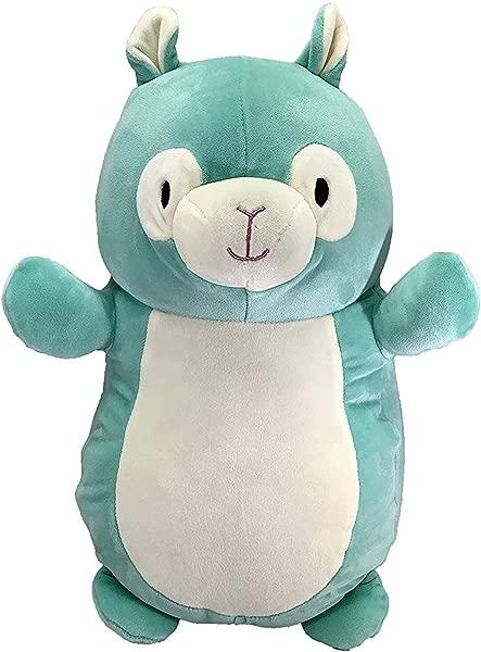 Squishmallow Original Kellytoy Standing Hug MEES New For 2019 Super Soft Plush Toy Stuffed Animal Pet Pillow Gift Birthday Holiday Christmas Alpaca 14