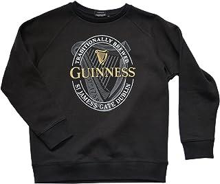Guinness Black Logo Crew Neck Sweatshirt (Small)