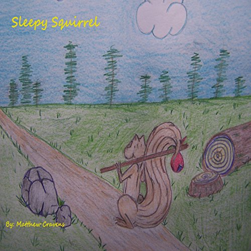 Sleepy Squirrel  By  cover art