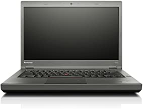 Lenovo ThinkPad T440P 14in Laptop, Core i7-4600M 2.9GHz, 8GB RAM, 512GB Solid State Drive, DVD, Win10P64 (Renewed)