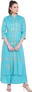 LOPA Women's Rayon Readymade Salwar Suit