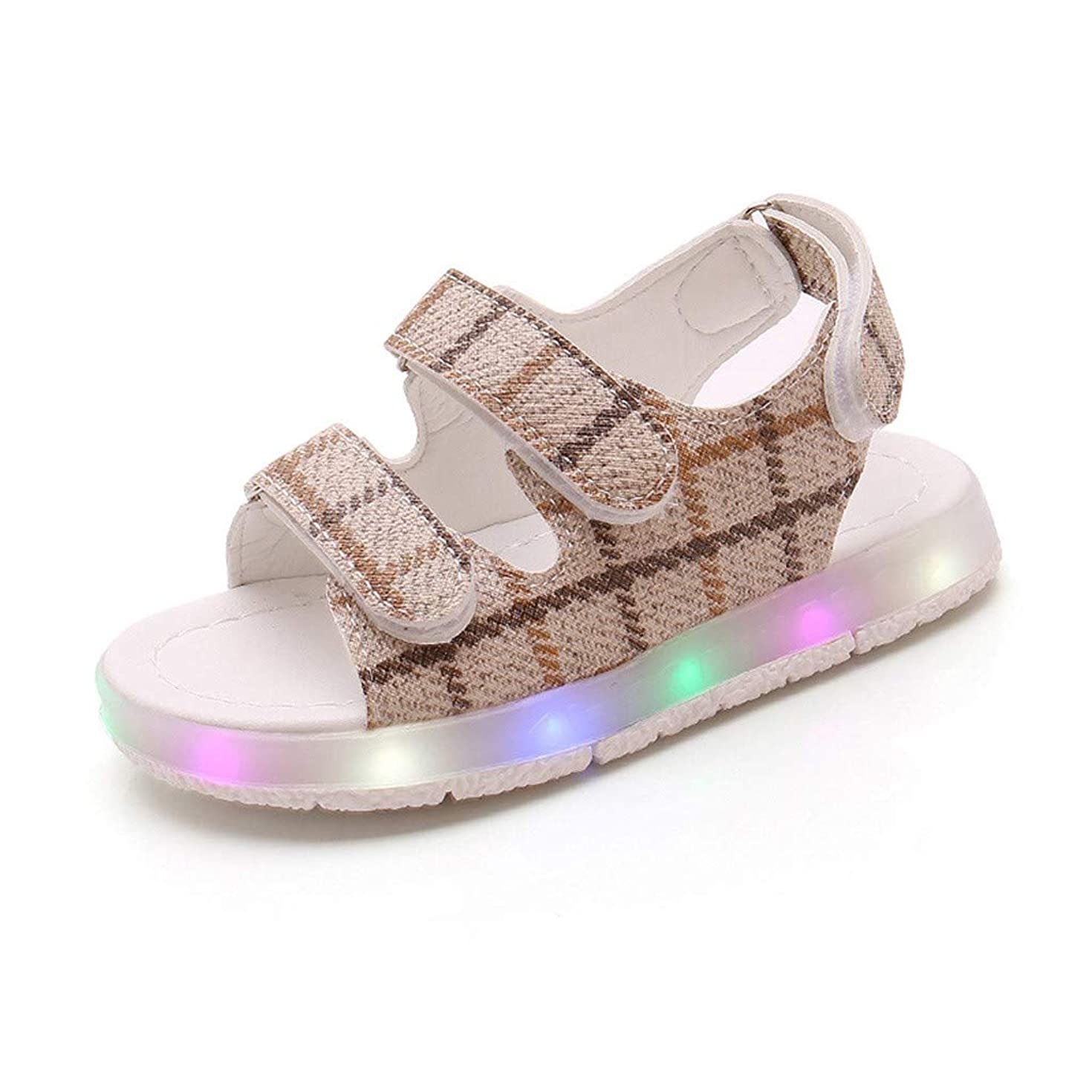 Haalife???Baby Toddler Girl's Flower Open Toe Strap Sandals Summer Flat Princess Shoes