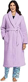 Women's Petite Sherpa Fleece Long Robe