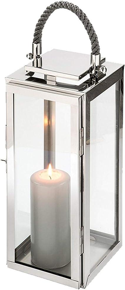 Anniversaire F/ête /Éclairage Vintage en Forme de Bouteille pour Mariage D/îner Home/&Decorations Lanterne LED D/écorative Argent/ée en Verre