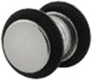 Katy Craig – Pendiente Individual magnética de acero inoxidable, falso Piercing con efecto Dilatador redondo