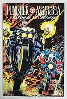 1992 Marvel Comics Punisher/Captain America Blood and Glory Vol. 1 Book 2 of 3
