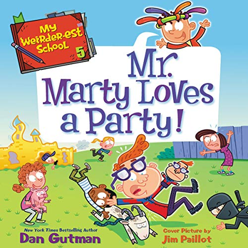Mr. Marty Loves a Party! cover art