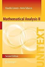 mathematical التحليل II (unitext)