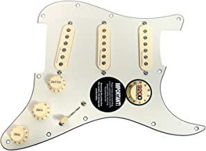 Fender Jeff Beck Hot Noiseless Loaded Pickguard Parchment / Aged White