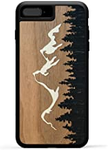 product image for Carved - iPhone 8 Plus / 7 Plus / 6s Plus - Luxury Protective Traveler Case - Unique Real Wooden Phone Cover - Rubber Bumper - Grand Teton Inlay