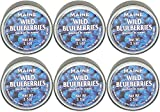 Authentic Wild Maine Blueberries Packed in Water. 3.5-ounce can - Great for Baking in Muffins and Pancakes (6 Pack)