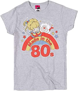 Womens Rainbow Brite Made in The 80s Fitted T Shirt