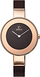 Obaku Analog Watch For Women - V167Lxvnmn