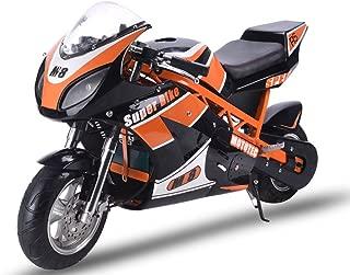 MotoTec 48v 1000w Superbike in Black