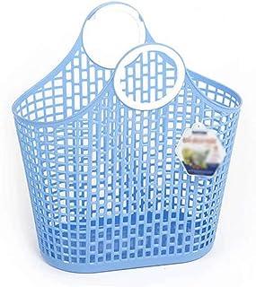 Boite de rangement tissu Grand panier en plastique portable acheter de la nourriture corbeille de fruits grand panier de s...
