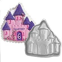 ZJWEI 11 Inch Plane Aluminum Alloy 3D Cake Mold Baking Mould Tin Cake Pan - castle