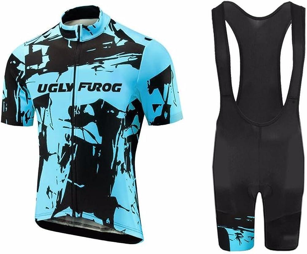 Uglyfrog WDTZ01 MTB Jersey sold out + Short Women Bib Tight Breathab Latest item Sets