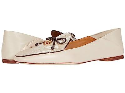 Tory Burch Tory Charm 5 mm Loafer (Jamaica Sand/Jamaica Sand/Jamaica Sand/Coco) Women