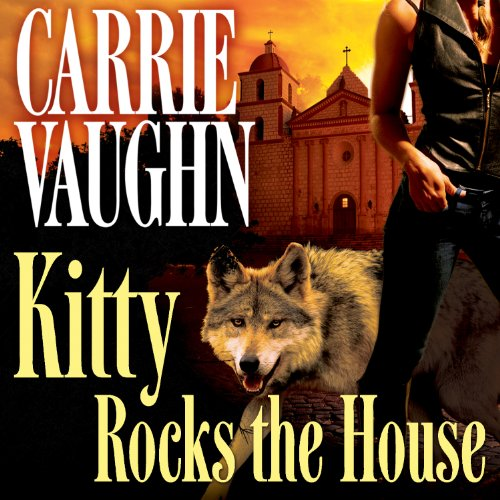 Kitty Rocks the House audiobook cover art
