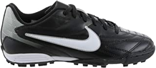 Premier III TF - Zapatillas de fútbol para niño, negro y blanco, 37 1/2