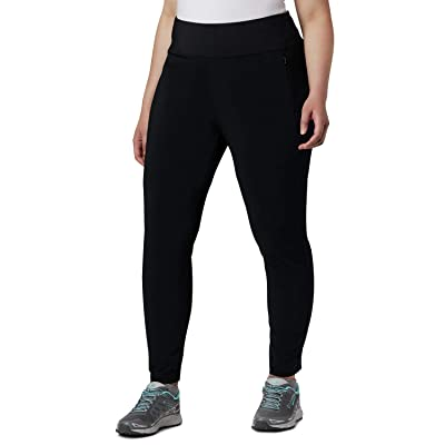 Columbia Plus Size Place to Placetm High-Rise Leggings (Black) Women
