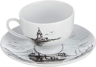 Porland İstanbul Kahve Takımı 4 Parça, Porselen