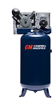 Air Compressor, 80 Gallon Vertical Two Stage 14CFM 5HP 208-230V 1PH (Campbell