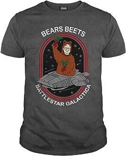 Zoko Apparel Bears Beets Battlestar Galactica T-Shirt
