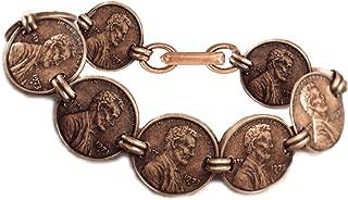 Copper Penny Coin Bracelet