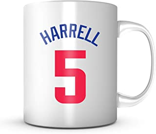 MONTREZI HARRELL #5 Los Angeles Basketball - Jersey Number Coffee Cup
