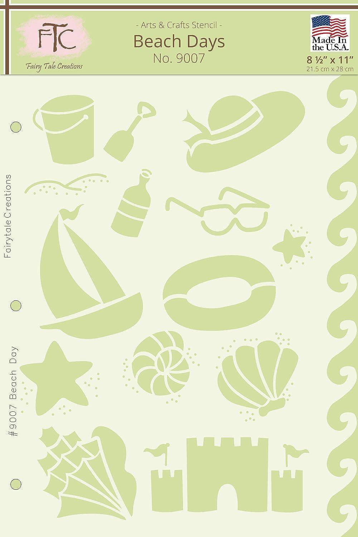 Fairytale Creations Creations Creations Beach Tagen Schablone, 8 1 5,1 cm L x 27,9 cm H B0169ASQAA | Qualitätskönigin  6813d2