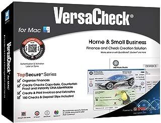 VersaCheck Finance & Check Creation Software for Macintosh