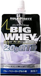 バルクスポーツ プロテイン ビッグホエイRTD 1パック×1ケース(30パック) ブルーベリーヨーグルト